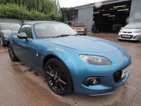 2013 MAZDA MX-5 2.0 I ROADSTER SPORT GRAPHITE EDITION 2d 158 BHP £13995.00
