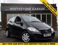 USED 2011 61 MERCEDES-BENZ A CLASS 2.0 A160 CDI BLUEEFFICIENCY CLASSIC SE 5d 82 BHP LOVELY LOW MILEAGE WITH £30 ROAD TAX