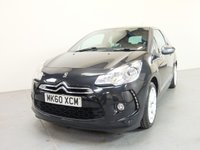 USED 2010 60 CITROEN DS3 1.6 HDI BLACK AND WHITE 3d 90 BHP