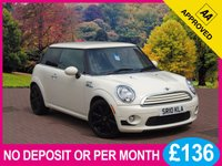 USED 2010 10 MINI HATCH COOPER 1.6 COOPER 3dr [ CHILI PACK ] PRICE CHECKED DAILY – WHY PAY MORE ??