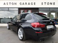 USED 2015 15 BMW 5 SERIES 2.0 520D M SPORT TOURING AUTO 188 BHP ** BIG SPEC ** ** SUN PROTECTION GLASS **
