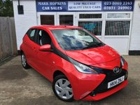 USED 2014 14 TOYOTA AYGO 1.0 VVT-I X-PLAY 5d 69 BHP 14K FSH  ONE OWNER  HIGH SPEC  EXCELLENT CONDITION