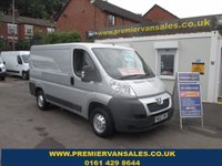 2012 PEUGEOT BOXER 2.2 HDI 330 L1H1 PROFESSIONAL 110 BHP, SHORT WHEEL BASE, AIR CON, BLUETOOTH, ONE OWNER, FULL HISTORY £5500.00