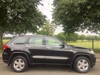 2012 JEEP GRAND CHEROKEE 3.0 V6 CRD LIMITED 5d AUTO 237 BHP £11995.00
