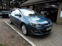 USED 2013 13 VAUXHALL ASTRA 2.0 SE CDTI 5d AUTO 162 BHP FRONT AND REAR PARKING SENSORS, CRUISE CONTROL, FULL SERVICE HISTORY, HALF LEATHER