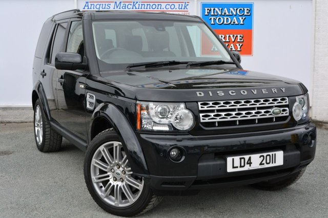 2011 11 LAND ROVER DISCOVERY 3.0 4 SDV6 HSE 5d AUTO 255 BHP