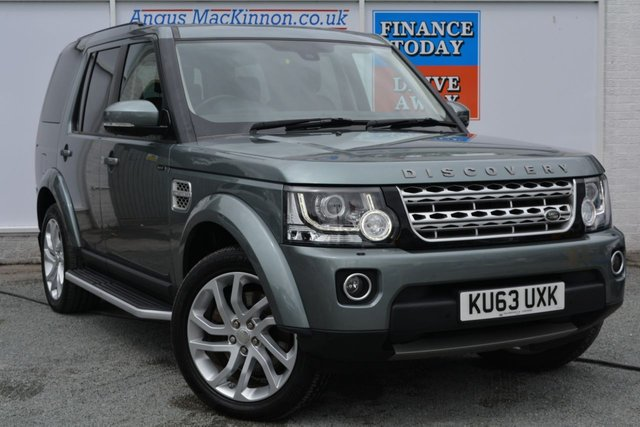 2014 63 LAND ROVER DISCOVERY 3.0 SDV6 HSE 5d AUTO 255 BHP