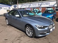 USED 2013 13 BMW 3 SERIES 2.0 318D MODERN 4d AUTO 141 BHP 0% AVAILABLE ON THIS CAR PLEASE CALL 01204 317705