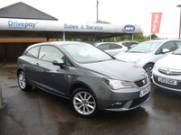 USED 2014 64 SEAT IBIZA 1.4 TOCA 3d 85 BHP NEED FINANCE? WE CAN HELP. WE STRIVE FOR 94% ACCEPTANCE