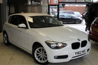 USED 2012 62 BMW 1 SERIES 2.0 116D SE 5d 114 BHP ANTHRACITE GREY CLOTH SEATS + BLUETOOTH + 16 INCH ALLOYS + AIR CONDITIONING + ELECTRIC WINDOWS + HILL START ASSIST