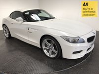 USED 2013 13 BMW Z4 2.0 Z4 SDRIVE20I M SPORT ROADSTER 2d 181 BHP FSH-1 OWNER-LOW MILEAGE-LEATHER-A/C