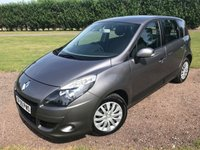 2009 RENAULT SCENIC 2.0 EXPRESSION VVT 5d AUTO 138 BHP Full Service History, LOW MILES £4750.00