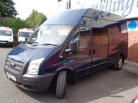 USED 2012 62 FORD TRANSIT 2.2 350 H/R 1d 124 BHP