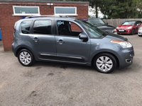 USED 2011 61 CITROEN C3 PICASSO 1.6 PICASSO EXCLUSIVE HDI 5d 90 BHP ONLY 42K MILES, 2 OWNERS