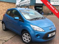 USED 2011 11 FORD KA 1.2 EDGE 3d 69 BHP Only £30 A Year Road Tax, Ideal First Car Great Mpg And So Much More