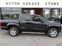 USED 2015 15 VOLKSWAGEN AMAROK 2.0 DC TDI HIGHLINE 4MOTION 178 BHP ** SAT NAV * LEATHER ** ** HEATED LEATHER * SAT NAV * DEALER HISTORY **