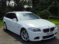 USED 2013 13 BMW 5 SERIES 2.0 520D M SPORT TOURING 5d AUTO **DIESEL**AUTOMATIC**LUXURY**