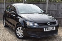 USED 2012 12 VOLKSWAGEN POLO 1.2 S A/C 3d 70 BHP Free 12  month warranty