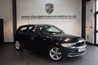 USED 2009 09 BMW 1 SERIES 2.0 118D SPORT 3DR 141 BHP + FULL SERVICE HISTORY + SPORT SEATS + RAIN SENSORS + AIR CONDITIONING + PARKING SENSORS + 17 INCH ALLOY WHEELS +
