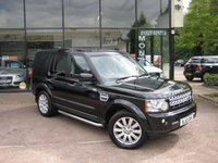 2012 LAND ROVER DISCOVERY 3.0 4 SDV6 HSE 5d AUTO 255 BHP £22490.00