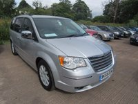 2008 CHRYSLER GRAND VOYAGER 2.8 CRD LIMITED 5d AUTO 161 BHP £8995.00