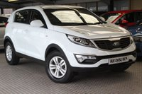 USED 2013 13 KIA SPORTAGE 1.6 1 5d 133 BHP STUNNING ONE OWNER CAR WITH FULL KIA SERVICE HISTORY