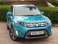 USED 2016 65 SUZUKI VITARA 1.6 SZ5 ALLGRIP 5d AUTO 118 BHP NEED FINANCE? POOR CREDIT WE CAN HELP! JUST ASK! CLICK THE LINK ON OUR WEBSITE AND APPLY 24/7!!