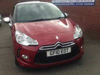 USED 2010 10 CITROEN DS3 1.6 DSPORT HDI 3d 110 BHP ONLY 51K MILES, SAT NAV