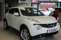 USED 2012 61 NISSAN JUKE 1.6 ACENTA PREMIUM AUTO 5d 117 BHP SAT NAV + REVERSE CAMERA + BLUETOOTH + CRUISE CONTROL + 17 INCH ALLOYS + AUX/USB + AIR CONDITIONING