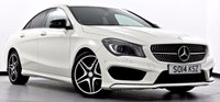 USED 2014 14 MERCEDES-BENZ CLA 1.6 CLA180 AMG Sport 4dr Sat Nav, Heated Seats, Xenons