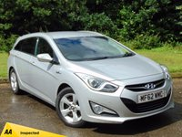 USED 2012 62 HYUNDAI I40 1.7 CRDI STYLE BLUE DRIVE 5d 134 BHP 128 POINT AA INSPECTED* SATELLITE NAVIGATION