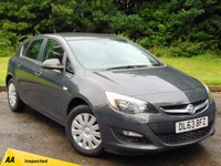 USED 2013 63 VAUXHALL ASTRA 1.4 EXCLUSIV 5d 98 BHP 128 POINT AA INSPECTED AND FULL SERVICE HISTORY