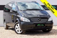 "USED 2009 59 MERCEDES-BENZ VIANO 3.0 CDI LONG AMBIENTE 5d AUTO 202 BHP **£0 DEPOSIT FINANCE AVAILABLE**SECURE WITH A £99 FULLY REFUNDABLE DEPOSIT** FULL LEATHER, 6 SEATS, PARKING SENSORS, PRIVACY GLASS, 17"" ALLOYS, DVD PLAYER & MONITOR, SAT NAV, CRUISE CONTROL, AIR CONDITIONING, ELECTRIC WINDOW"