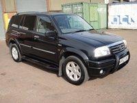2003 SUZUKI GRAND VITARA 2.7 V6 XL-7 5d 171 BHP £1000.00