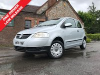USED 2008 58 VOLKSWAGEN FOX 1.2 6V 3d 54 BHP One Owner, Low Mileage.