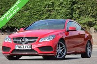 USED 2013 63 MERCEDES-BENZ E CLASS 2.1 E220 CDI AMG SPORT 2d AUTO 170 BHP Stunning Example