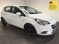 USED 2015 VAUXHALL CORSA 1.4 SRI ECOFLEX 5d 89 BHP FSH-LOW MILEAGE-BLUETOOTH-ALLOYS