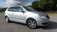 USED 2009 09 VOLKSWAGEN POLO 1.4 MATCH TDI 3d 68 BHP £30 TAX A YEAR,CAMBELT AND WATER PUMP CHANGED,ALLOYS, AIR-CON,TDI-SUPERB MPG,AA MECHANICAL INSPECTION REPORT