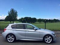 2013 BMW 1 SERIES 2.0 118D M SPORT 5d AUTO 141 BHP £11395.00