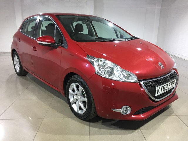 View our 2013 63 PEUGEOT 208 1.6 E-HDI ACTIVE FAP 5d 92 BHP