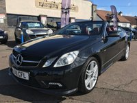 USED 2011 11 MERCEDES-BENZ E CLASS 2.1 E220 CDI BLUEEFFICIENCY SPORT 2d AUTO 170 BHP