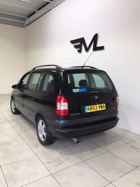 USED 2004 53 VAUXHALL ZAFIRA 1.8 DESIGN 16V 5d 124 BHP + 1  PREVIOUS OWNER +