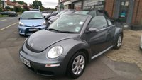 USED 2008 08 VOLKSWAGEN BEETLE 2.0 CABRIOLET 8V TIPTRONIC 2d AUTO 114 BHP