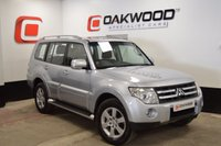 USED 2008 08 MITSUBISHI SHOGUN 3.2 GLS ELEGANCE LWB DI-D 5d AUTO 160 BHP *LOW MILES* LEATHER SEATS AND SAT NAV