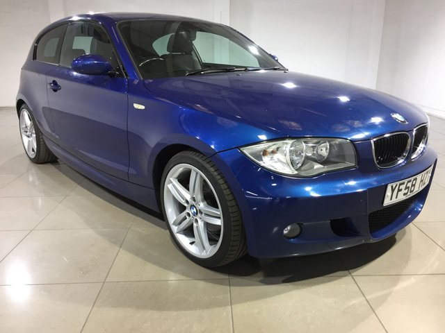 View our 2009 58 BMW 1 SERIES 1.6 116I M SPORT 3d 121 BHP
