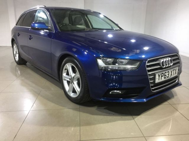 View our 2014 63 AUDI A4 2.0 AVANT TDI SE TECHNIK 5d 134 BHP