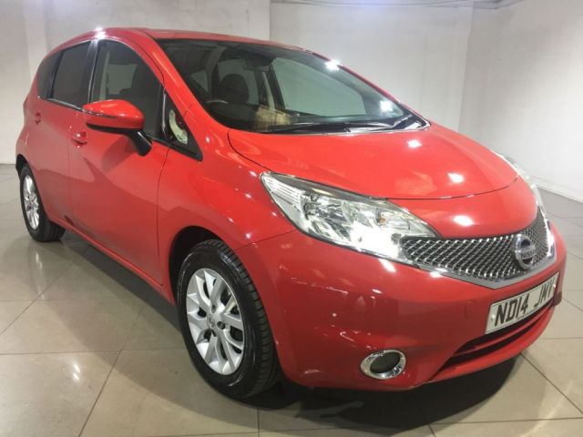 View our 2014 14 NISSAN NOTE 1.5 DCI ACENTA PREMIUM 5d 90 BHP