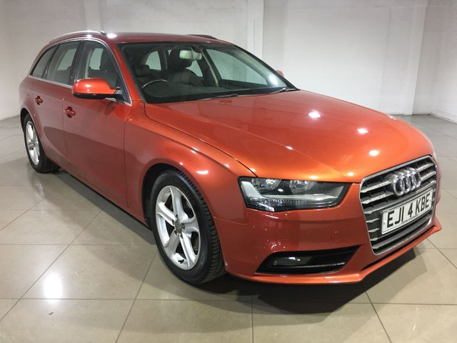 View our 2014 14 AUDI A4 2.0 AVANT TDI SE TECHNIK 5d 134 BHP