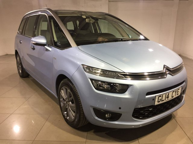 View our 2014 14 CITROEN C4 PICASSO 1.6 GRAND E-HDI AIRDREAM EXCLUSIVE 5d 113 BHP