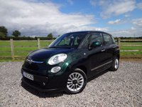 USED 2013 63 FIAT 500L 1.6 MULTIJET LOUNGE 5d 105 BHP ONLY 1 PRIVATE OWNER FROM NEW + FULL SERVICE HISTORY
